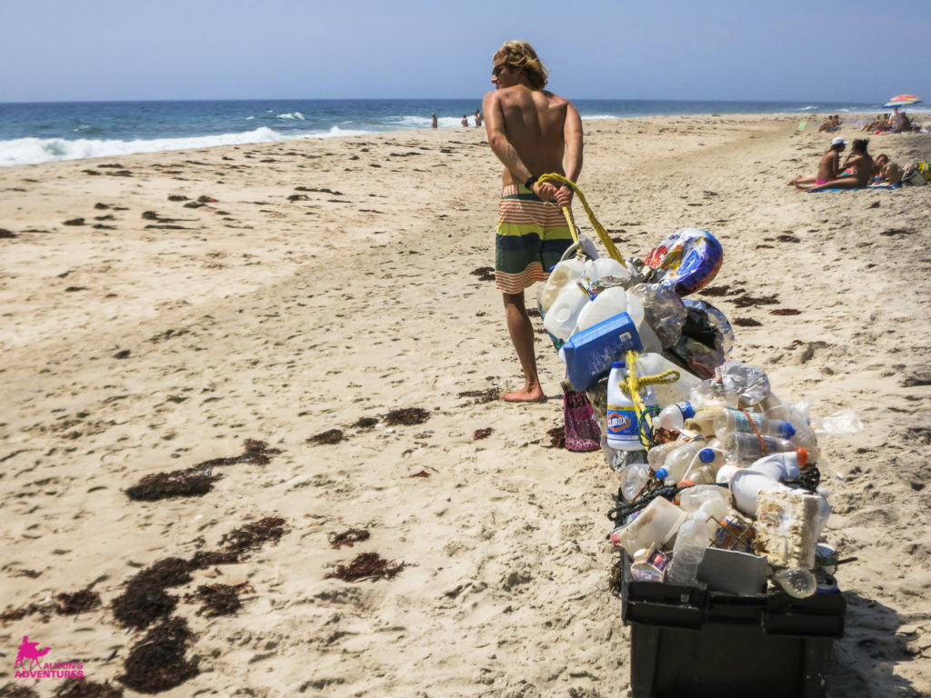 AlisonsAdventures_Beach clean up Scott IMG_1178