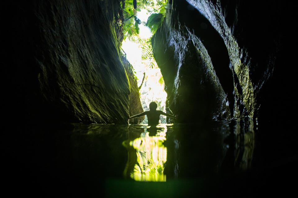 TiTou Gorge, Dominica