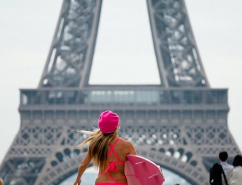 Surfing Paris for Climate Change!